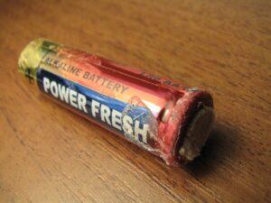 Батарейки протекают