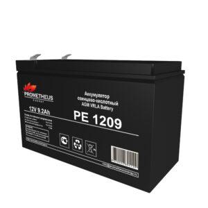 Аккумулятор для ИБП Prometheus energy, 12 вольт 9.2 ампер, срок службы 6 лет