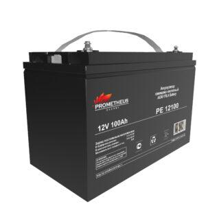 Аккумулятор для ИБП Prometheus energy, 12 вольт 100 ампер, срок службы 6 лет