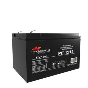 Аккумулятор для ИБП Prometheus energy, 12 вольт 12 ампер, срок службы 6 лет