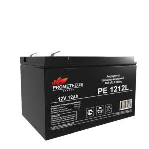Аккумулятор для ИБП Prometheus energy, 12 вольт 12 ампер, срок службы 10 лет