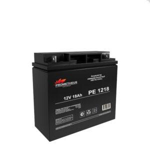 Аккумулятор для ИБП Prometheus energy, 12 вольт 18 ампер, срок службы 6 лет