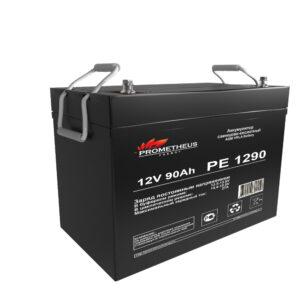 Аккумулятор для ИБП Prometheus energy, 12 вольт 90 ампер, срок службы 6 лет