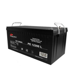 Аккумулятор для ИБП Prometheus energy, 12 вольт 200 ампер, срок службы 10 лет