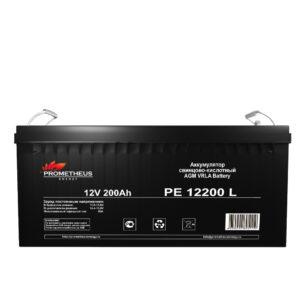 Аккумулятор для ИБП Prometheus energy, 12вольт 200 ампер, срок службы 10 лет