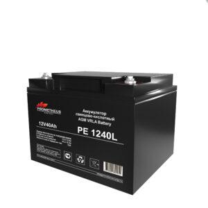 Аккумулятор для ИБП Prometheus energy, 12 вольт 40 ампер, срок службы 10 лет