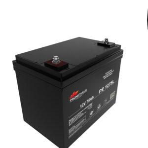 Аккумулятор для ИБП Prometheus energy, 12вольт 75 ампер, срок службы 10 лет