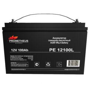 Аккумулятор для ИБП Prometheus energy, 12 вольт 100 ампер, срок службы 10 лет
