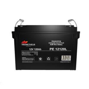 Аккумулятор для ИБП Prometheus energy, 12 вольт 120 ампер, срок службы 10 лет