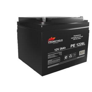 Аккумулятор для ИБП Prometheus energy, 12 вольт 26 ампер, срок службы 10 лет