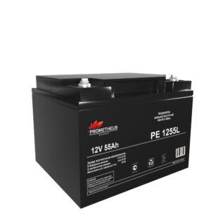 Аккумулятор для ИБП Prometheus energy, 12 вольт 55 ампер, срок службы 10 лет