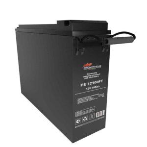 """Аккумулятор FT Prometheus energy для установки в 19"""" и 23"""" шкафы и стойки, 12 вольт 100 ампер, срок службы 15 лет"""