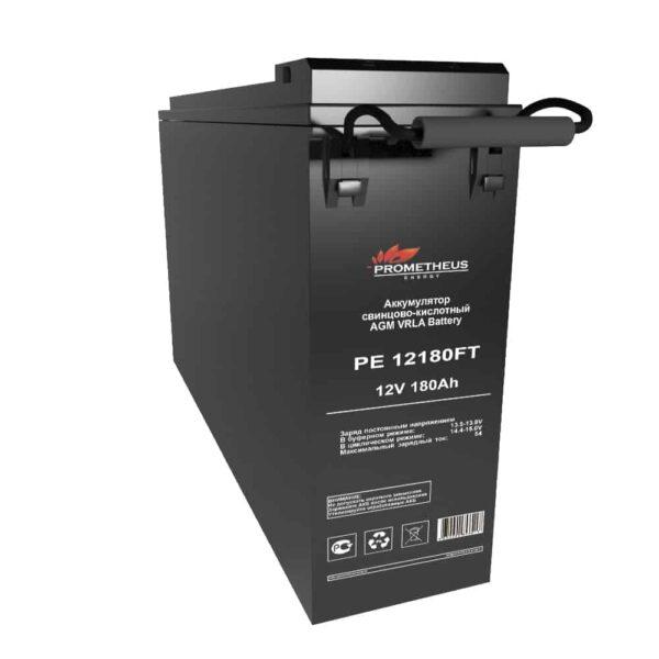 """Аккумулятор FT Prometheus energy для установки в 19"""" и 23"""" шкафы и стойки, 12 вольт 180 ампер, срок службы 15 лет"""